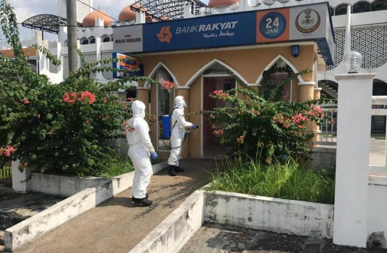 Disinfection & Sanitisation in Ipoh to Break the Chain of COVID-19 Infection