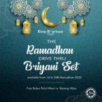 1 Kinta Riverfront Hotel Ramadhan Drive thru Briyani Set