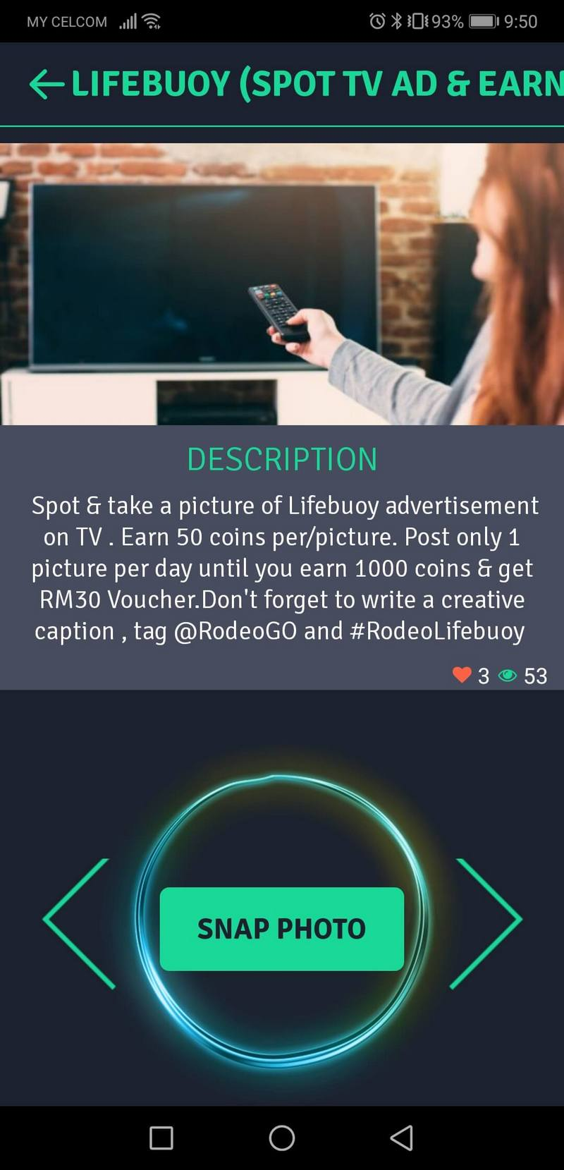 spot ad to earn