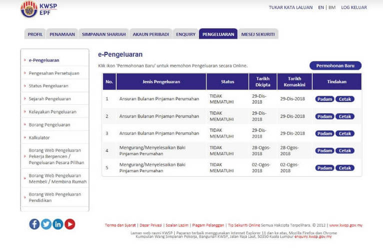 How to Withdraw Up To RM500 Monthly From Your EPF Akaun 2 (i-Lestari Online)?