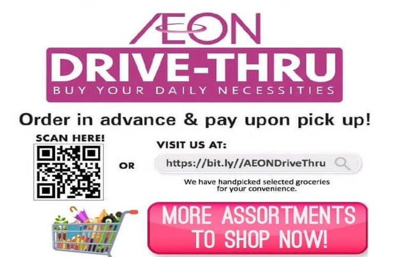 AEON Drive-Thru Service in Ipoh