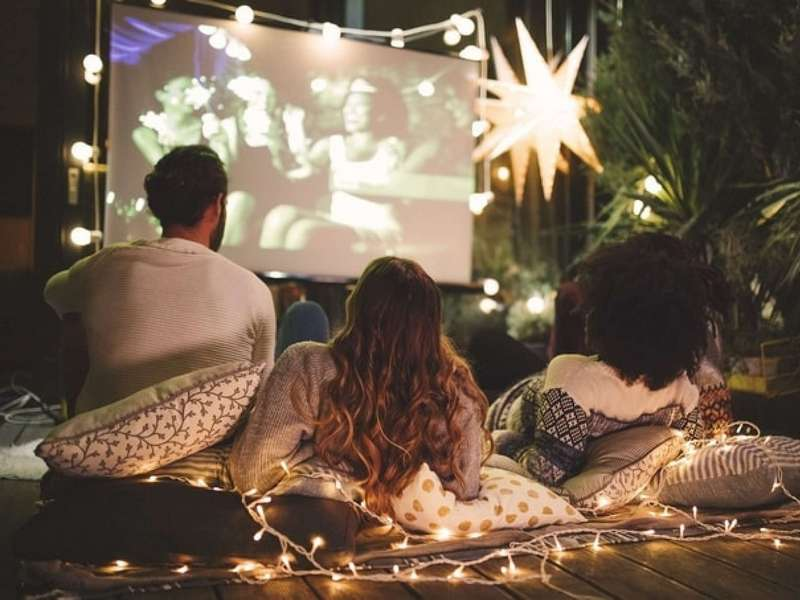 movie night at home (credit: M_A_Y_A/Getty Images)
