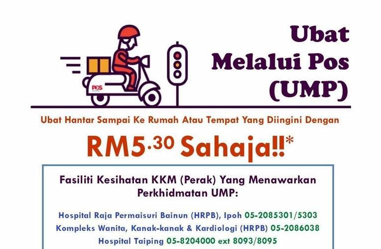 Get Your Medication Delivered to Your Home in Ipoh & Selected Perak Towns