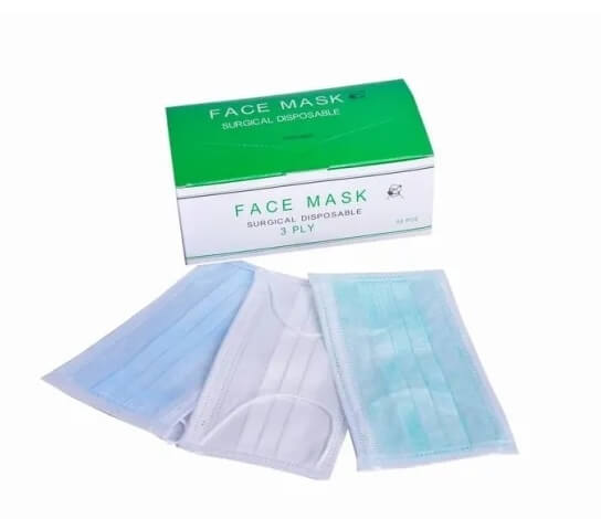 3-ply disposable surgical masks
