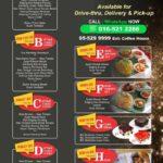 Casuarina Meru Ramadan menu
