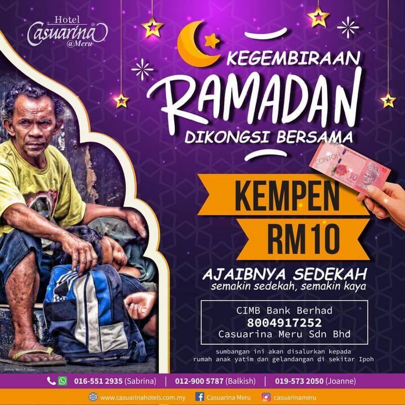 Kempen RM10 Kegembiraan Ramadanm Dikongsi Bersama
