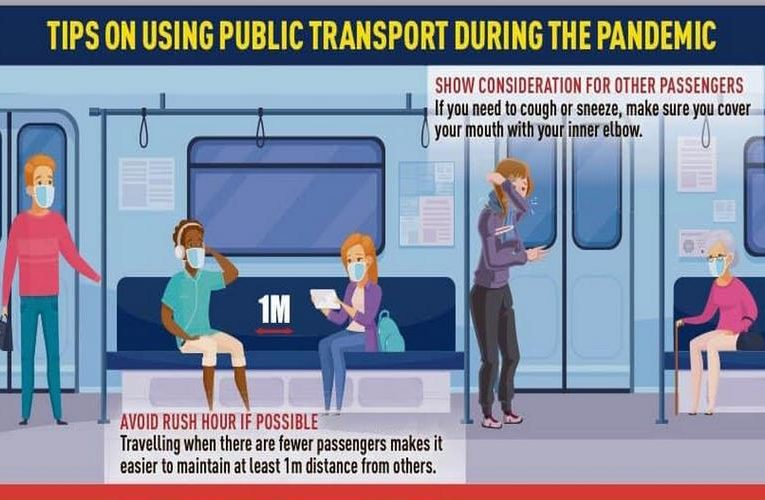 Tips On Using Public Transport During COVID-19 Pandemic