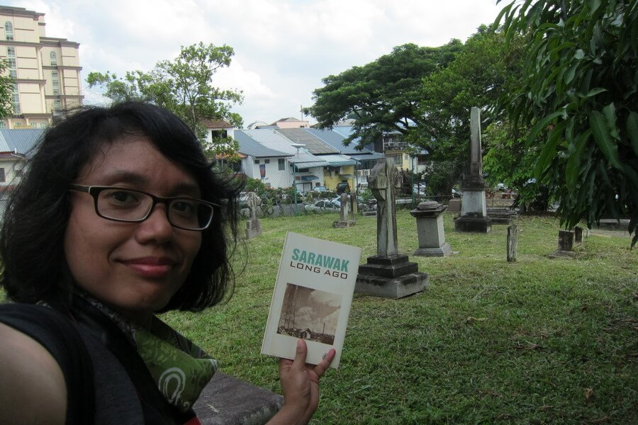 at the Old Christian Cemetery, Kuching
