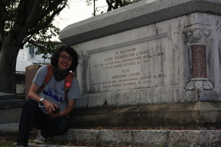 at the Old Protestant Cemetery, George Town