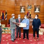 Care Packs to Ipoh City Council Retirees