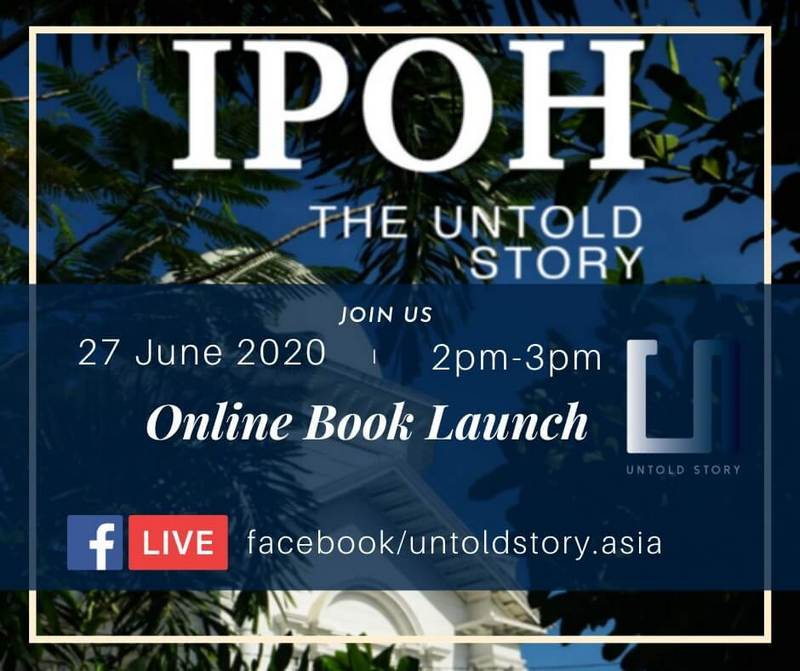 Online Book Launch Ipoh The Untold Story By H Berbar From Emily To You