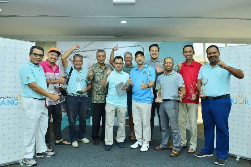 Selangor's Official Tourism Board gathers industry partners for an 18-hole Tourism Selangor Golf Tournament making its debut at Danau Golf Club, Bangi in 2019.