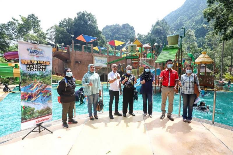 reopening of Sunway Lost World Of Tambun on 4th July, 2020