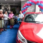 Proton Saga 1.3MT Car Grand Prize in the MBI Assessment Tax Lucky Draw