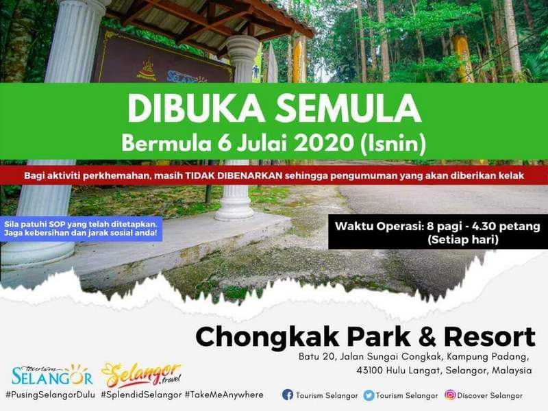 notice by Chongkak Park & Resort