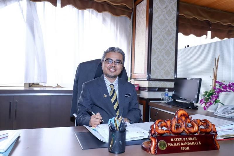 YBhg. Dato' Rumaizi, 100th day as Ipoh City Mayor