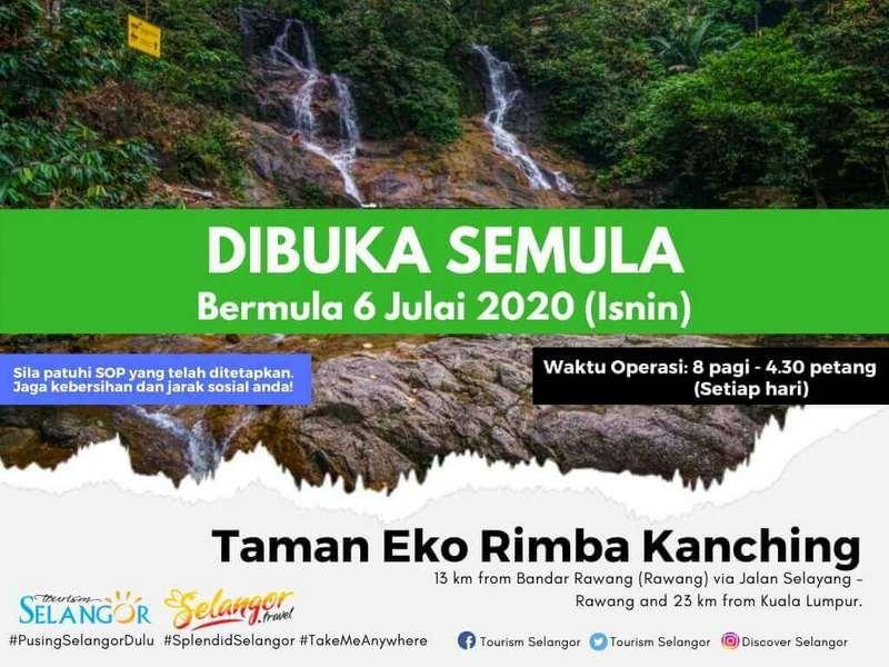 notice by Taman Eko Rimba Kanching