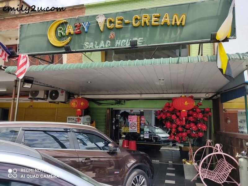 Crazy Ice Cream & Salad House Ipoh