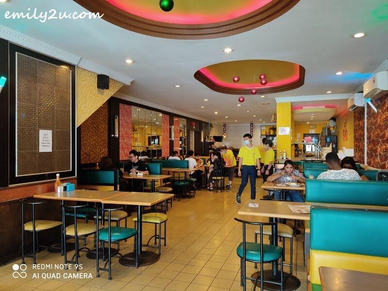 interior of Crazy Ice Cream & Salad House Ipoh
