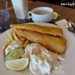 6 tempura fish and chips