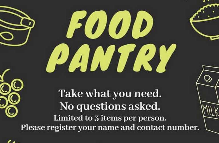 Pop-Up Food Pantry in Ipoh Old Town
