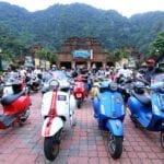 "Merdeka Vespa Ride themed ""Malaysia Prihatin"""