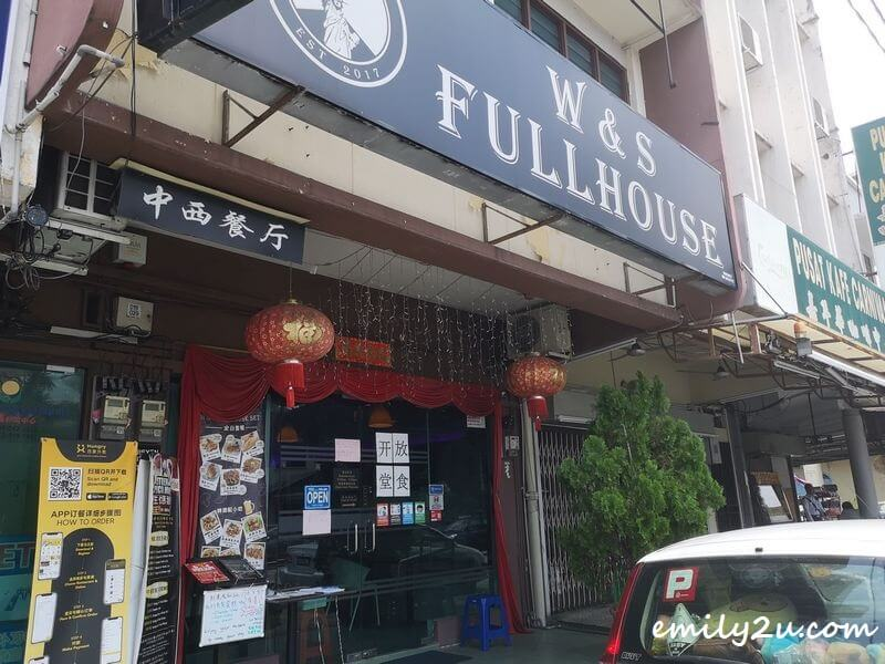 W&S Fullhouse Cafe, Ipoh