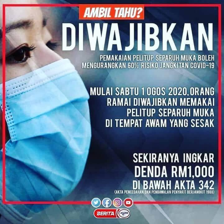 compulsory face mask