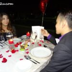 1 The Romantic Stay candlelight dinner