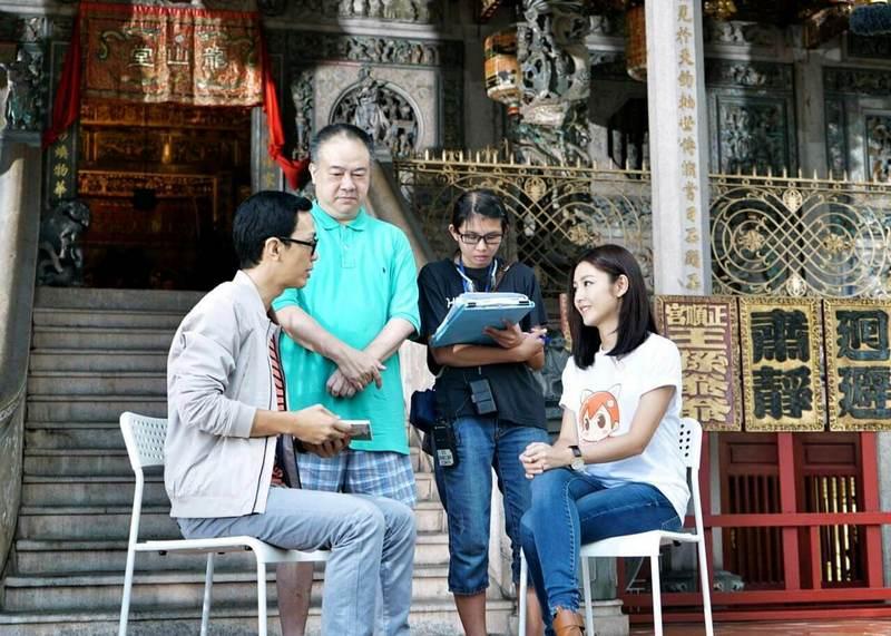 film shooting at Khoo Kongsi in Georgetown