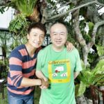 3 Ko (right) with lead actor, Alex Fong