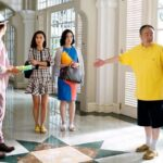 4 Ko (right) directs his actors (L-R) Louis Cheung, Annie Liu & Maggie Cheung