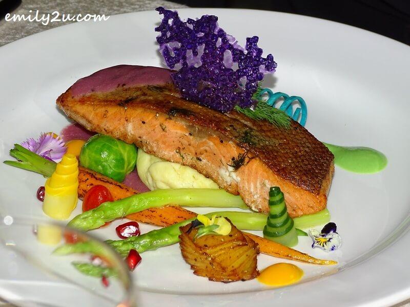 Pan-fried Norwegian Salmon