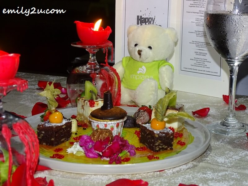 Sweet Temptations dessert platter