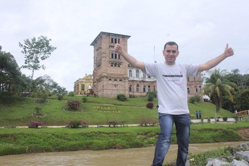 photoshoot at Kellie's Castle