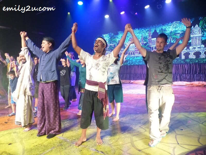 pulled on stage to dance at MudKL