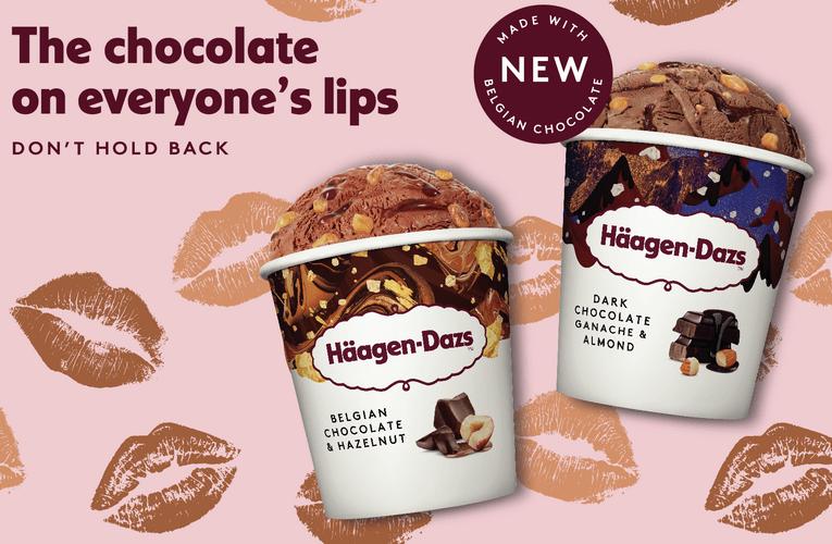Häagen-Dazs Introduces Brand New Decadent Chocolate Flavours