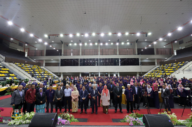 Ipoh City Council Service Excellence Award Presentation Ceremony