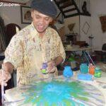 Raja Azhar painting