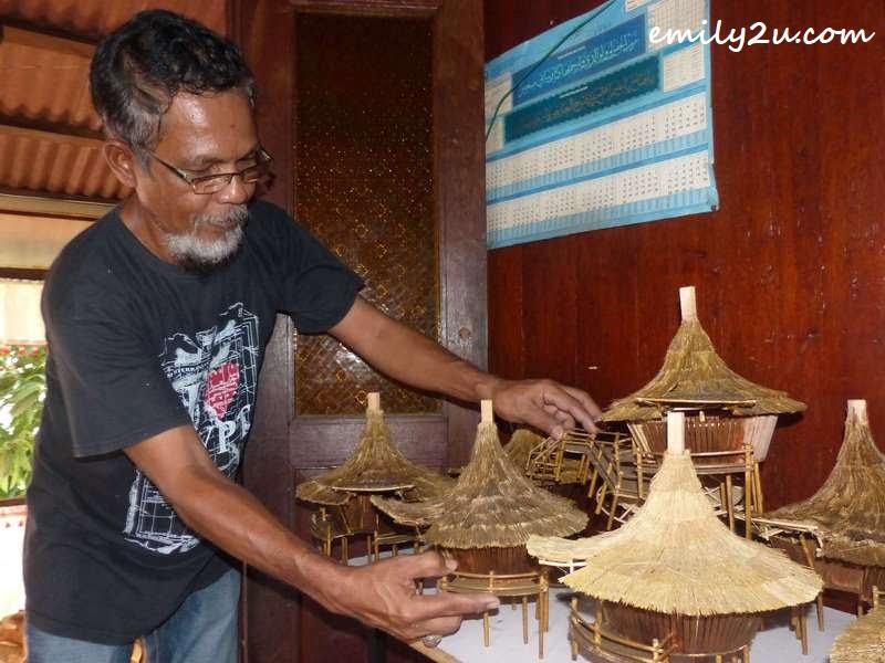Sarawak's Bidayuh baruk roundhouse