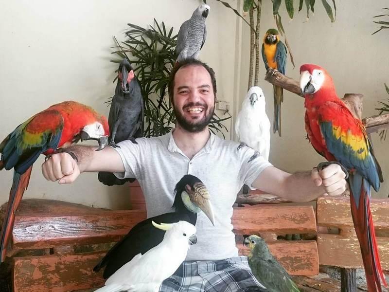 Yusuf at KL Bird Park