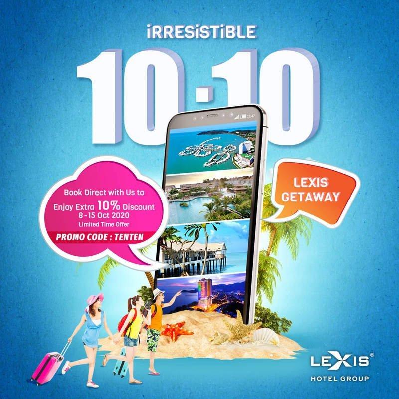 iRRESiSTiBLE 10-10 Lexis Getaway Deal