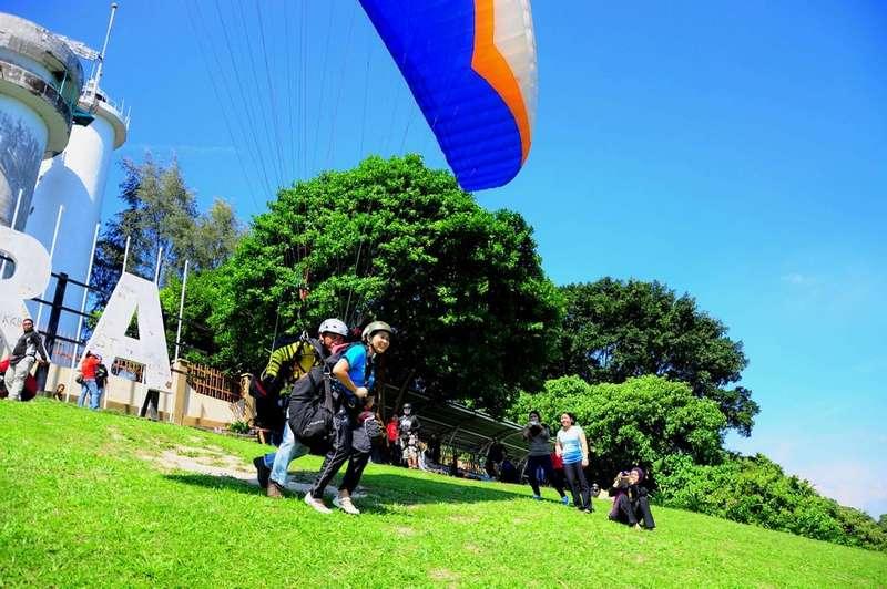 paragliding @ Jugra