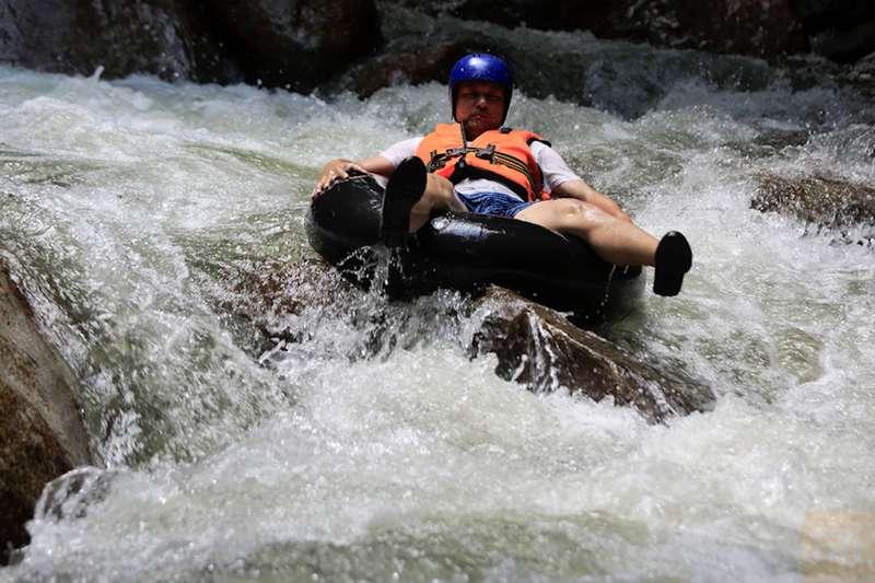 water tubing @ Hulu Selangor