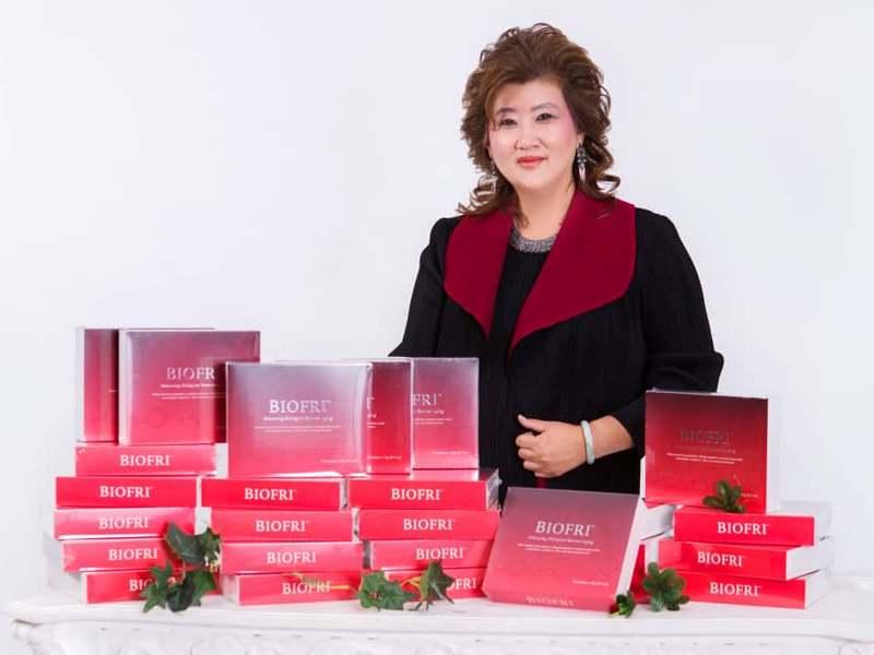 Frida Khong with BioFri