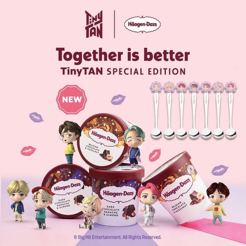 Häagen-Dazs™ TinyTAN Special Edition