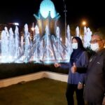 New Look for Ipoh's Iconic Fountain