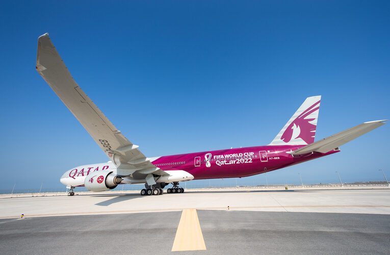 Qatar Airways Reveals First Bespoke FIFA World Cup Qatar 2022™ Aircraft
