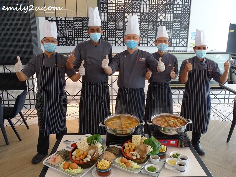 Travelodge Ipoh culinary team