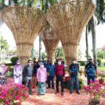 bamboo sculptures